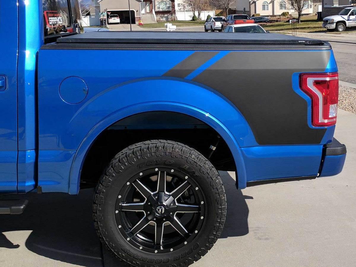 Product Ford F150 Bed Side Vinyl Graphic Decals Stickers