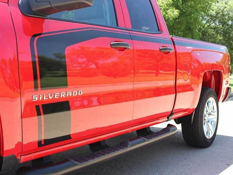 Chevrolet Avalanche 2016 >> Product: Chevy Colorado bed side Graphic decals stickers fits models 2016-2018