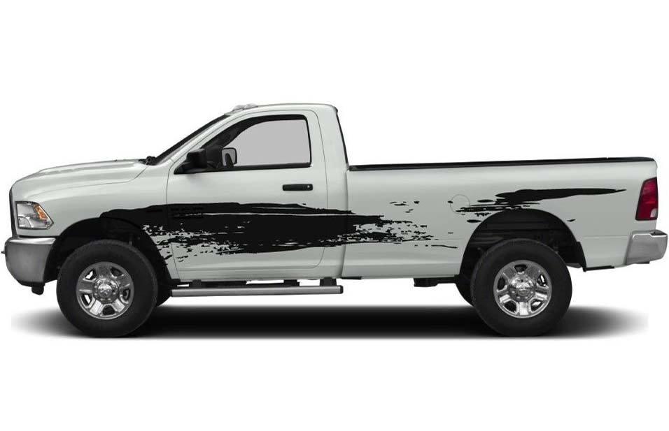 Product Mud Splash Truck Decal Sticker Fits To Dodge Ram