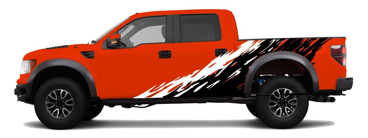 Product F FORD RAPTOR MUD SPLATTER DECAL GRAPHICS STICKERS - Ford raptor decals