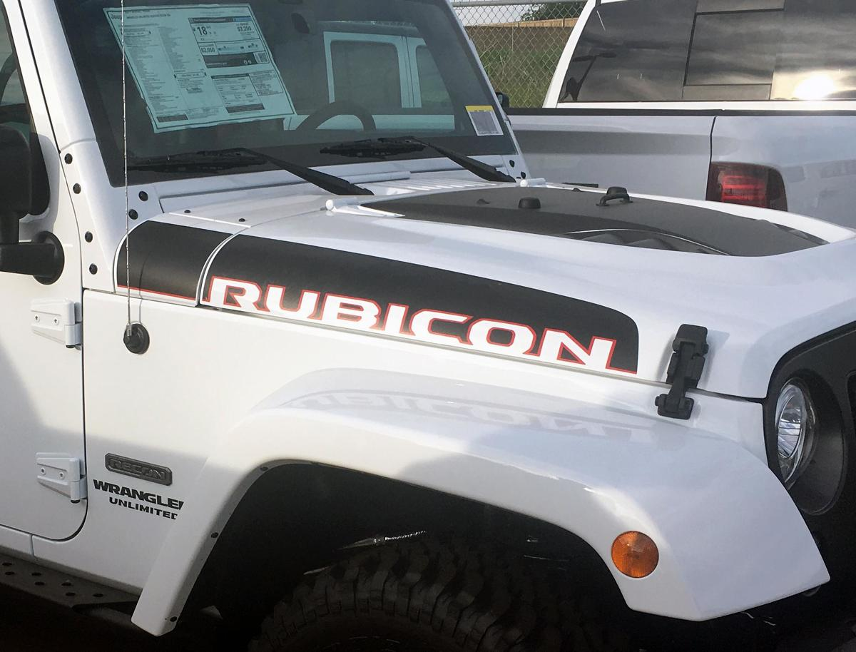 2 jeep wrangler jk unlimited rubicon recon decal sticker