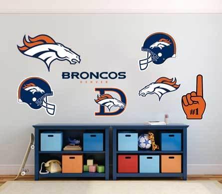 Denver Broncos professionelle American-Football-Team National Football League (NFL) Fan Wand Fahrzeug Notebook usw. Aufkleber Aufkleber