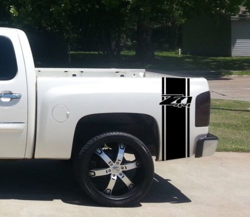 Fits Chevy Trucks Rear Bed Vinyl Decal Truck Graphics T-239 ZR-2