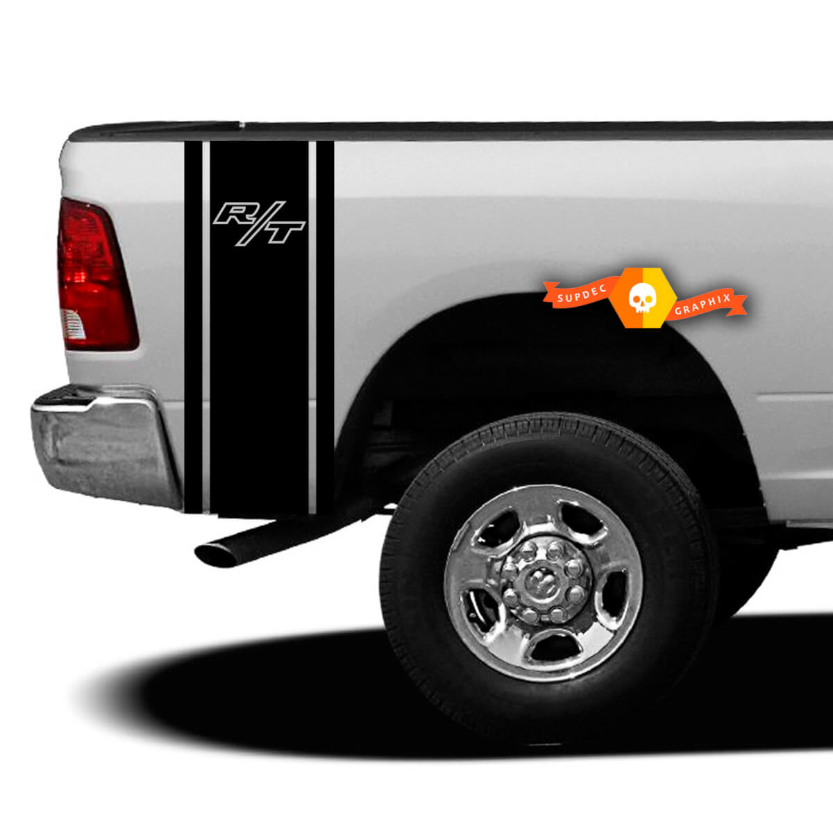 Auto Parts And Vehicles Dodge Ram 1500 2500 3500 Vinyl Decal Racing Sticker Stripe Hemi Mopar 5 7l T 192 Car Truck Graphics Decals