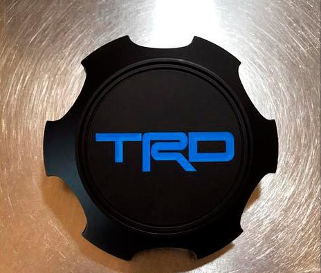 TRD SEMA Wheel Center Cap Decal Sticker