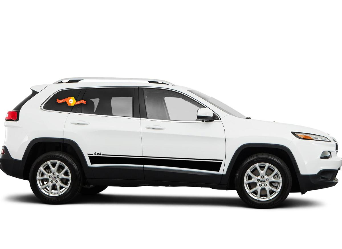 2014-2017 Jeep Cherokee Brave Vinyl Graphics Kit
