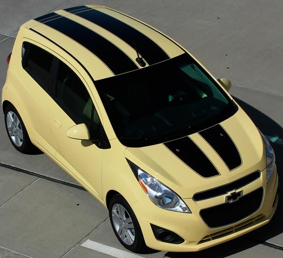 2013 - 2020 Chevy Spark Sparked Rally Stripes Graphic Kit
