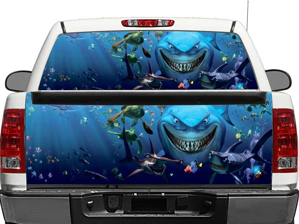Finding Nemo Rear Window OR tailgate Decal Sticker Pick-up Truck SUV Car