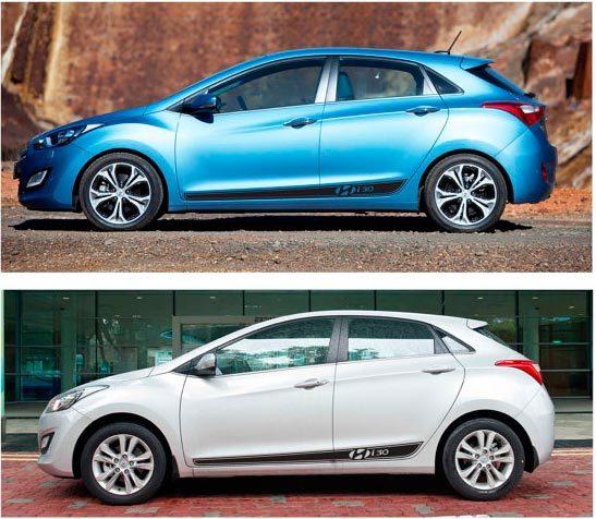 Aufkleber für Hyundai - Hyundai i30