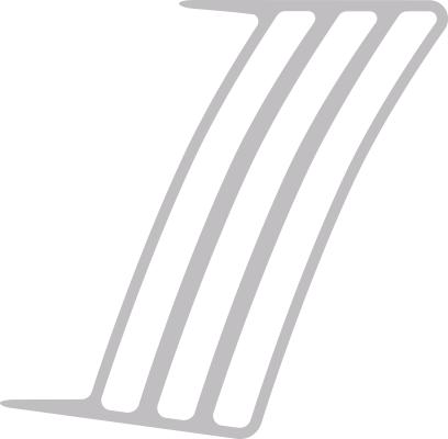 Chevy Camaro 2014 bis 2015 Faux Vent Akzente Design Style 03