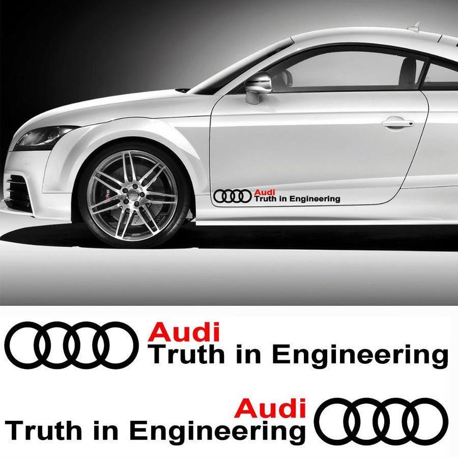 Audi Motor Sports Decal Sticker