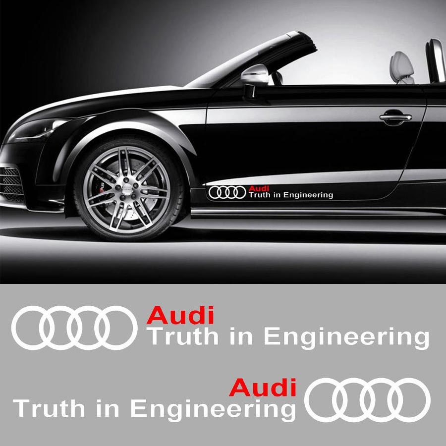 AUDI MOTOR SPORTS DECAL STICKER