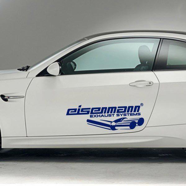 RACING SPONSORS DECAL STICKER EISENMANN 3