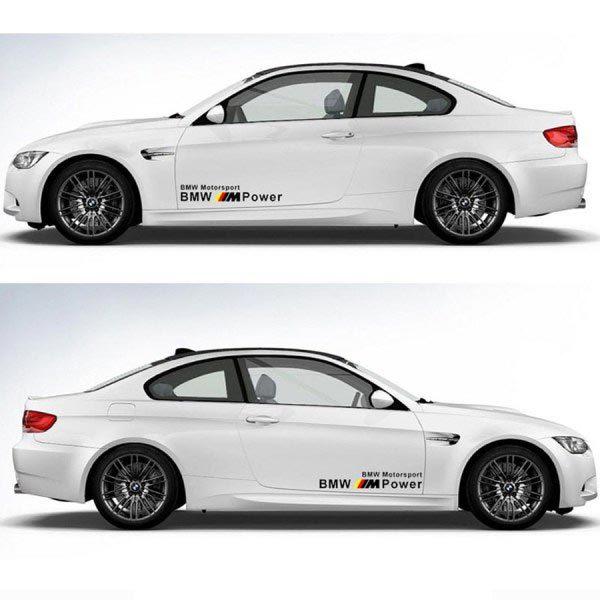 BMW M POWER MOTOR SPORTS AUFKLEBERSTICKER