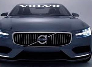 Volvo Windshield Banner Decal Sticker 36