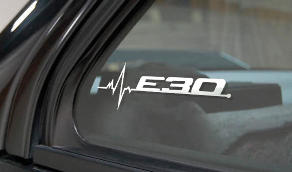Product Bmw E30 Is In My Blood Window Sticker Decals Graphic