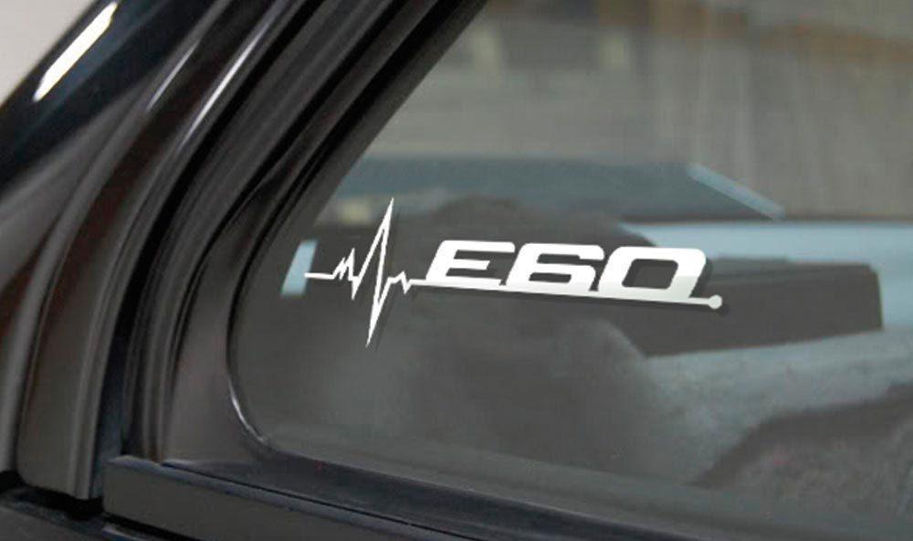 BMW E60 ist in meiner Blood Fenster Aufkleber Aufkleber Grafik