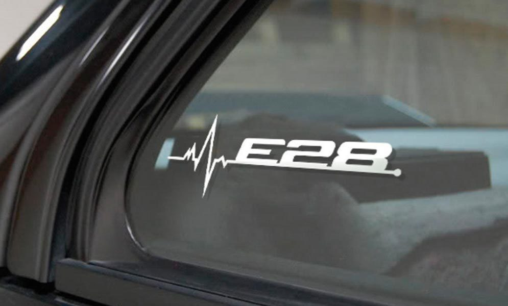 Product Bmw E28 Is In My Blood Window Sticker Decals Graphic