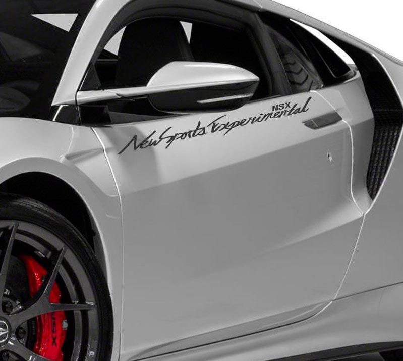 Product LETTERING DECAL STICKER EMBLEM LOGO VINYL ACURA NSX FOR ACURA - Acura decals