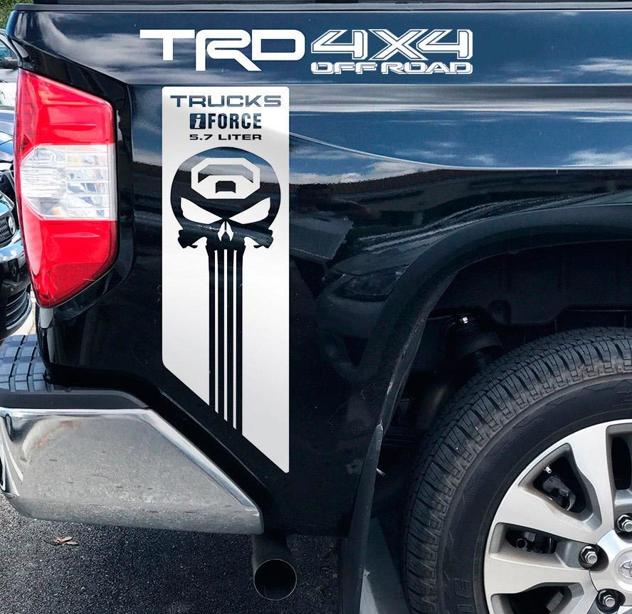 Toyota TRD off road iForce 5.7 Liter Tundra Truck off road Decal Sticker Vinyl