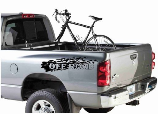 2PC - OFF ROAD decals for TOYOTA TUNDRA TACOMA 4 RUNNER SEQUOIA T100 4x4 4wd TRD