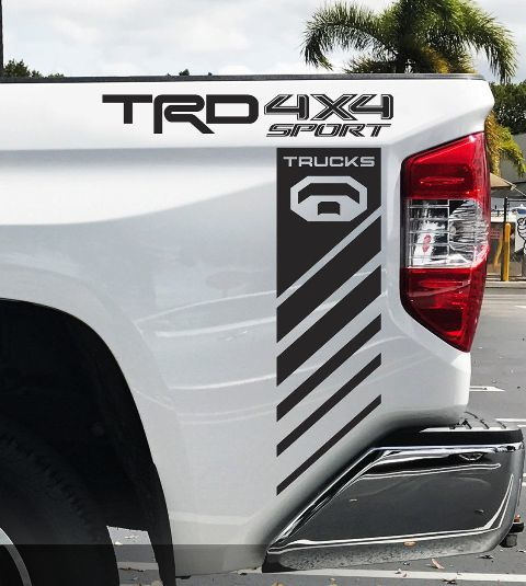 Product: Toyota TRD Tundra Sport 4x4 Racing Tacoma Decals