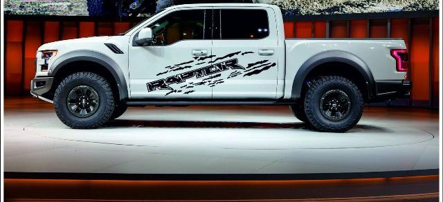 product ford raptor f150 2x graphics vinyl body decals. Black Bedroom Furniture Sets. Home Design Ideas