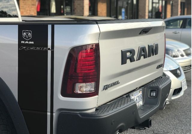 2 Dodge Ram Rebel 1500 5.7L Aufkleber TRX Seitenstreifen Vinyl Aufkleber Hemi Graphics