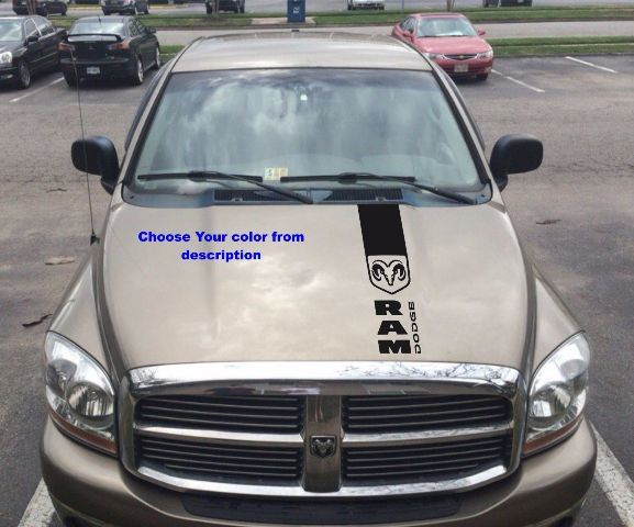 Hemi Dodge Ram Motorhaube Grafik Logo Aufkleber Mopar Vinyl Aufkleber Rennen Rebel Truck