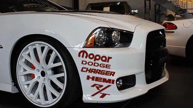 Product 2x Custom Dodge Charger Hemi Mopar Rt Decal Sticker Kit