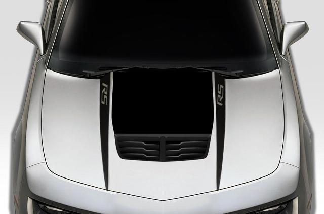 CHEVROLET CAMARO (2010-2015) CUSTOM VINYL DECAL KIT - RS HOOD SPEARS