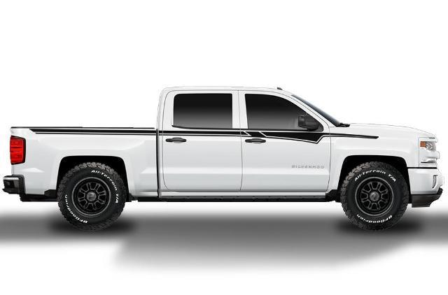 CHEVY SILVERADO (2014-2017) CUSTOM VINYL DECAL WRAP KIT - UPPER RALLY STRIPE