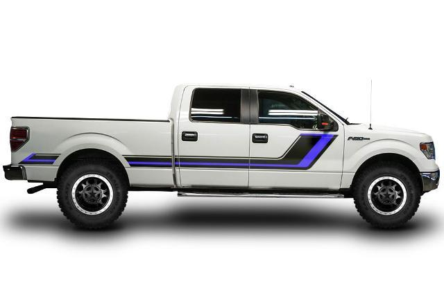 Ford F-150 FX2 sport Truck f150 The Punisher Pair 2 Decals Vinyl Decal f 150