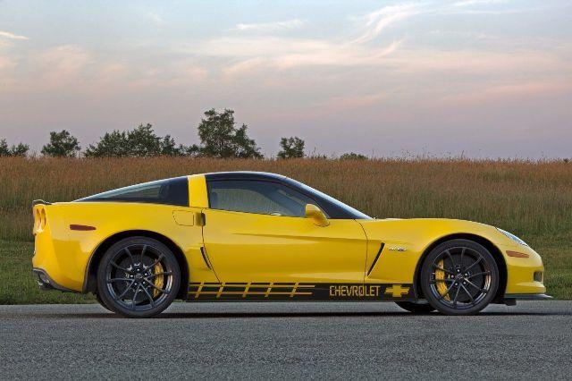 Mehrfarbige grafische Corvette / Camaro ZL1 Art Racing Aufkleber Aufkleber