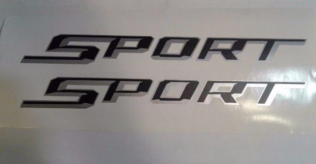 Sport Dodge Ram Dakota Aufkleber Aufkleber LKW SET Beliebige Farbe