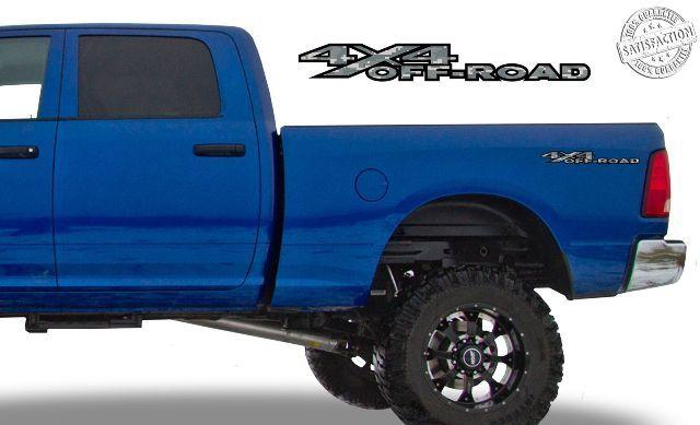 4x4 Off Road Digi Camo Nachttischaufkleber Passend für Dodge Ram 2002-09 1500 2500 3500