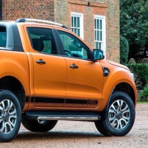 Ford Ranger FX4 Wildtrak Seitenstreifen Grafik Aufkleber Aufkleber