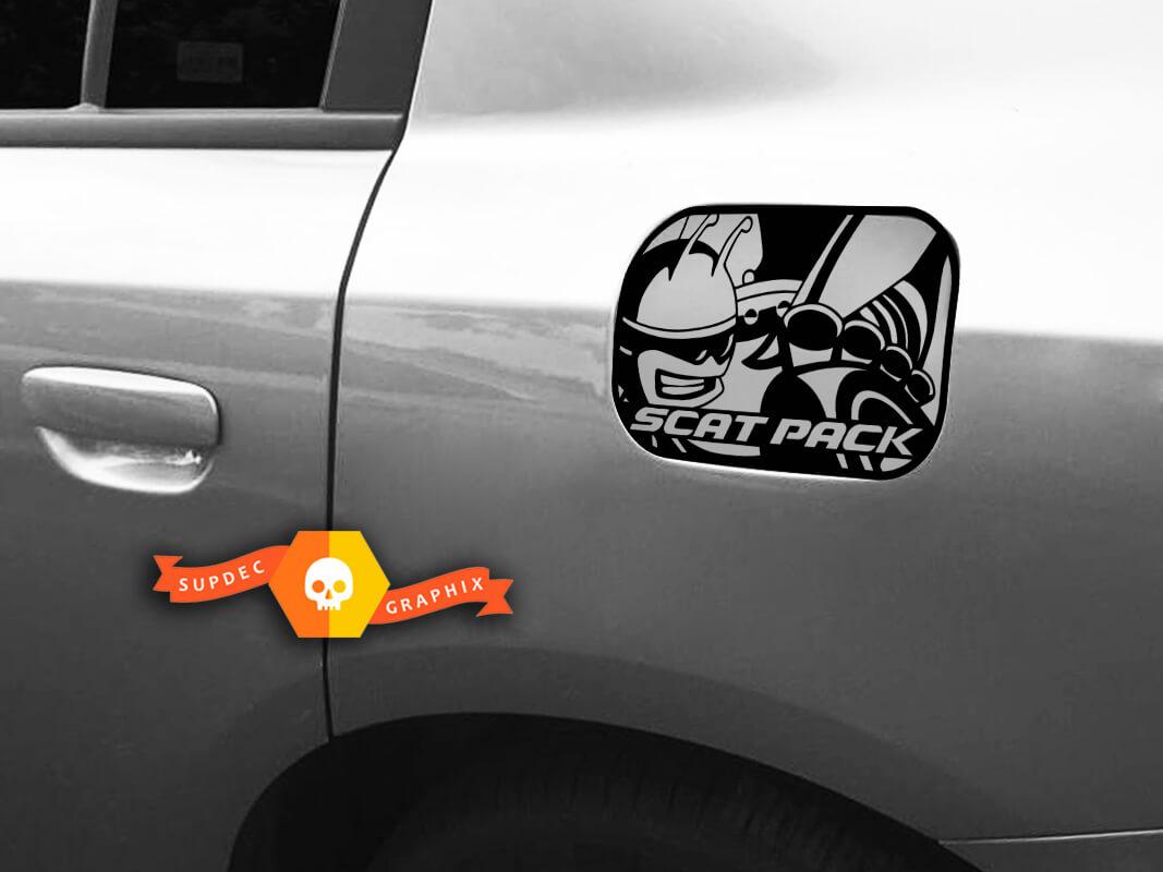 SCAT PACK Dodge Charger Gastür Aufkleber 2018 2016 2017 SRT 392 Teil Emblem Abzeichen Scatpack