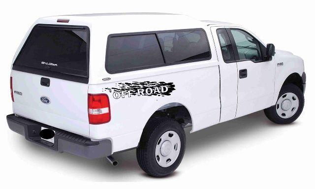 2pc - Off Road Decals - für F Aufkleber Teile Z71 Chevy Silverado GMC Sierra 4x4