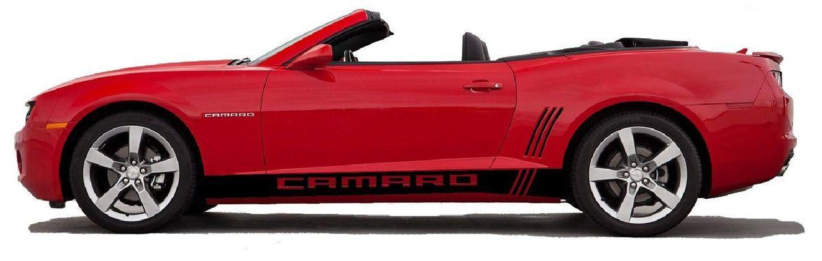 Camaro Rocker Grafik Seitenstreifen Aufkleber Kit 2010 2015 LS SS LT