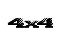 4x4 Jeep Decal Sticker truck Chevy ford GMC dodge #5