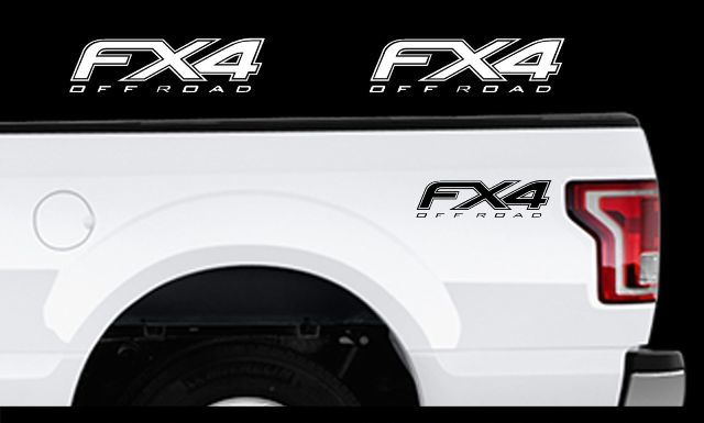 2010-2014 Ford F-150 Fx4 Offroad-Ladefläche Aufkleber Set Vinyl Aufkleber