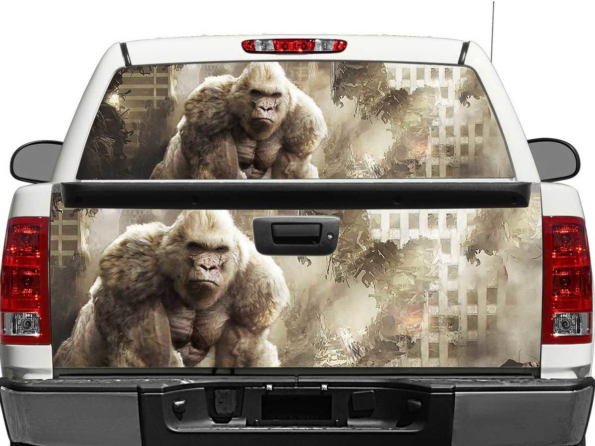 Rampage George Movie 2018 Rear Window OR tailgate Decal Sticker Pick-up Truck SUV Car