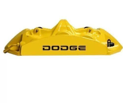 Dodge Brake Caliper Hochtemp. Vinyl Aufkleber Aufkleber Beliebiger Farbsatz von 6