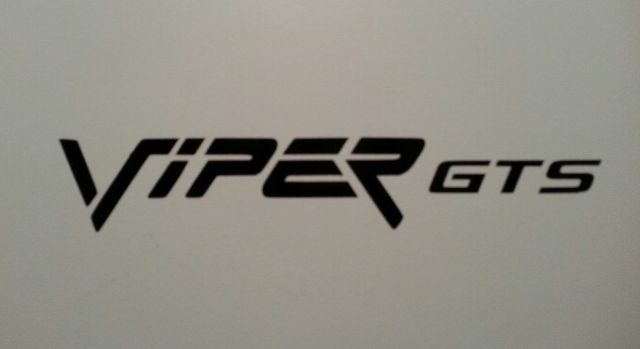 VIPER GTS AUFKLEBER DODGE HERAUSFORDERER LADEGERÄT RAM MOPAR HEMI V10