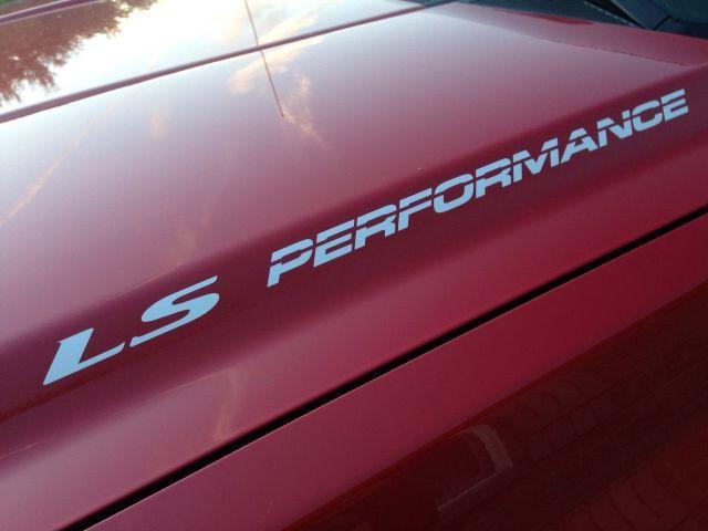 LS, LS3, LS6 LEISTUNG Haubenaufkleber Aufkleber Für Chevy, GMC, Silverado, Sierra