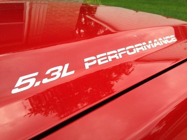 5.3L PERFORMANCE Hood Aufkleber Aufkleber für Chevy GMC Silverado Sierra