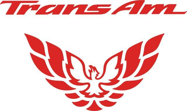 Pontiac Firebird Trans AM Rücklichtfüller Aufkleber Grafik 1998-2002