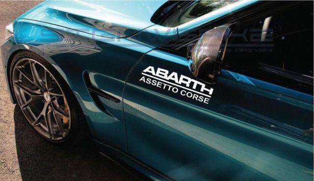 Fiat Assetto Corse Aufkleber Aufkleber Italien Racing abrath 500 500 c Rallye 12