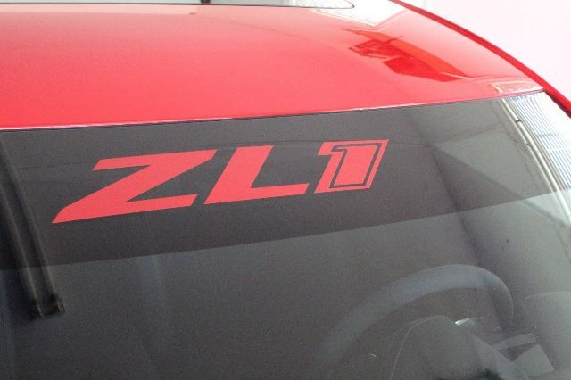 ZL1 Camaro Decal, Windshield graphic, Camaro SS, LT Eyebrow Graphic